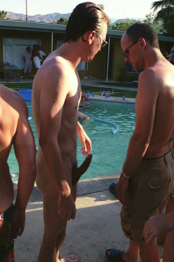 Pool party nude Wife Surprises