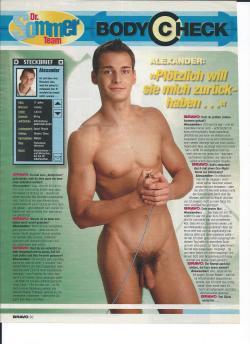 Boy nackt bravo Being Naked